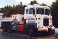 Scammell Crusader EKA Recovery (Q 212 UTG)(Copyright ERF Mania)