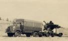 Bedford RL 3 ton 4x4 Cargo (07 DE 39) towing Thunderbird Missile