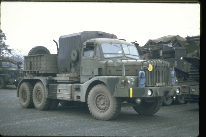Thornycroft Antar (12 DM 70) rear
