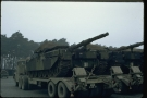 Chieftain Tank (03 EB 30) on trailer