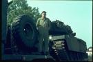 Chieftain Tank on trailer