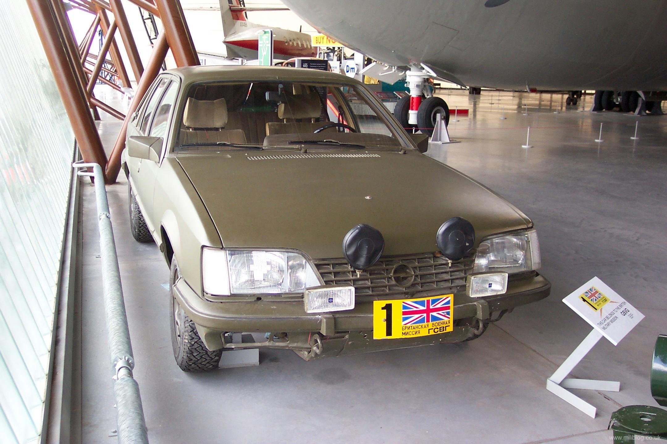 Opel Senator BRIXMIS No 1 1
