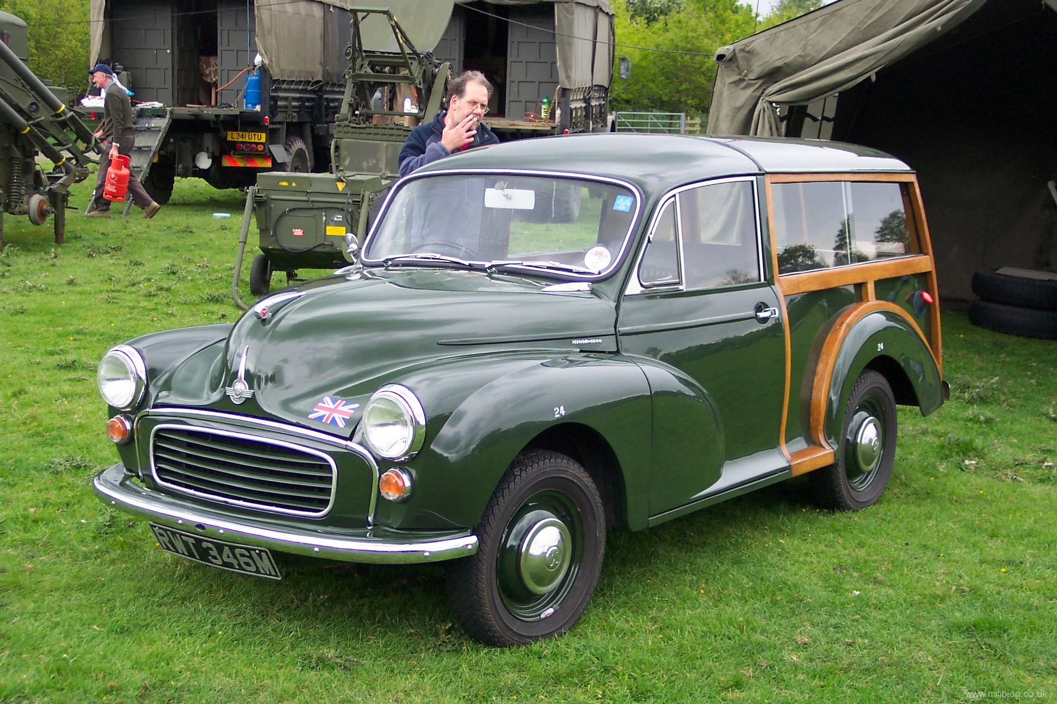 morris minor hot rod