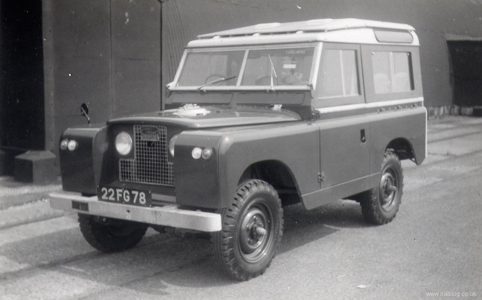 Land Rover S2 88 22 FG 78