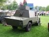 Land Rover S3 Shorland Armoured Car (HNP 853 J)(12 FL 02) Rear