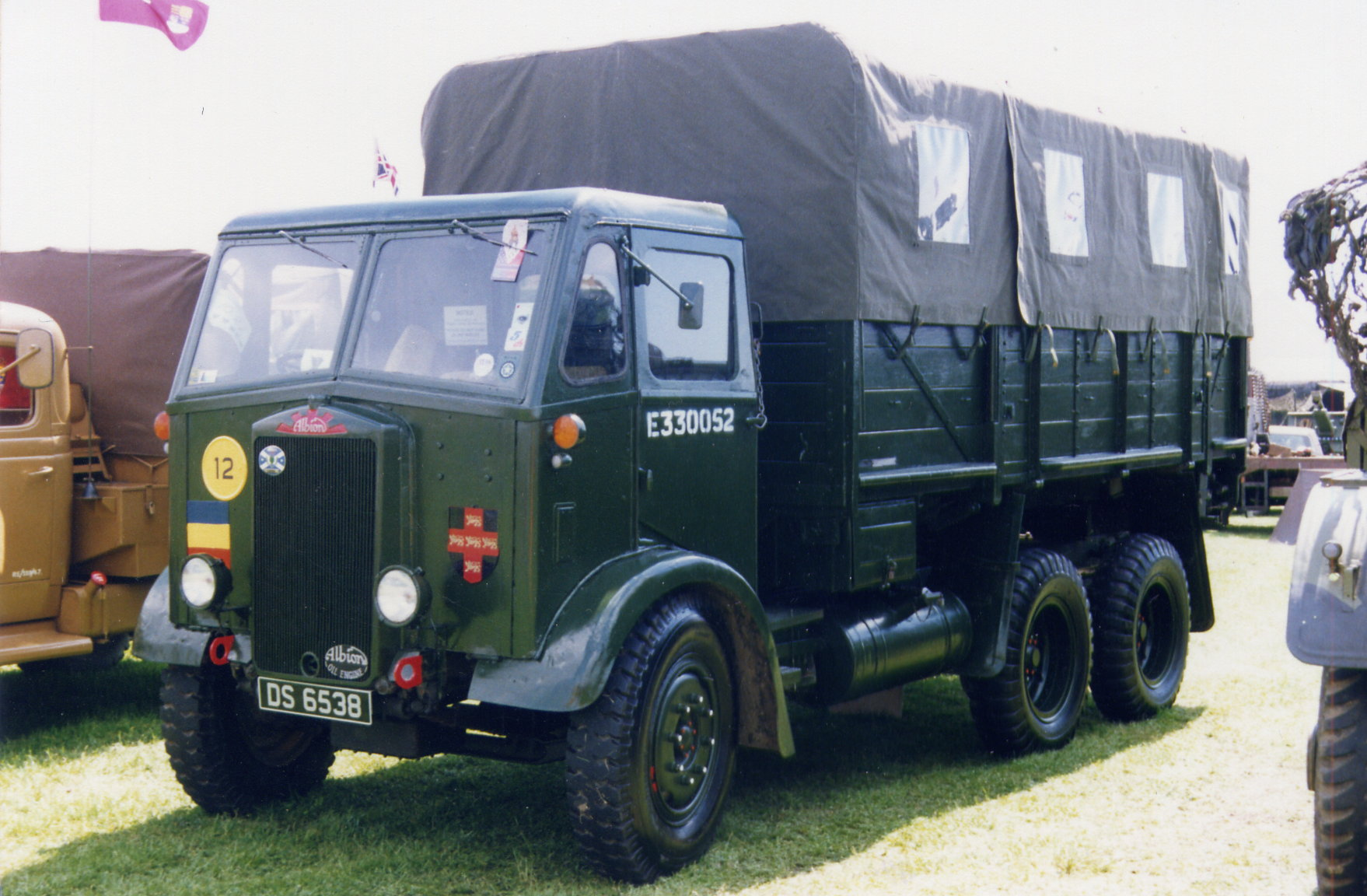 Albion 6x6 Cx226 Military Truck.html | Autos Post