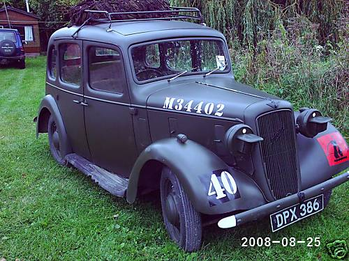 Austin 10hp Staff Car (DPX 386)(Courtesy of Gordon)