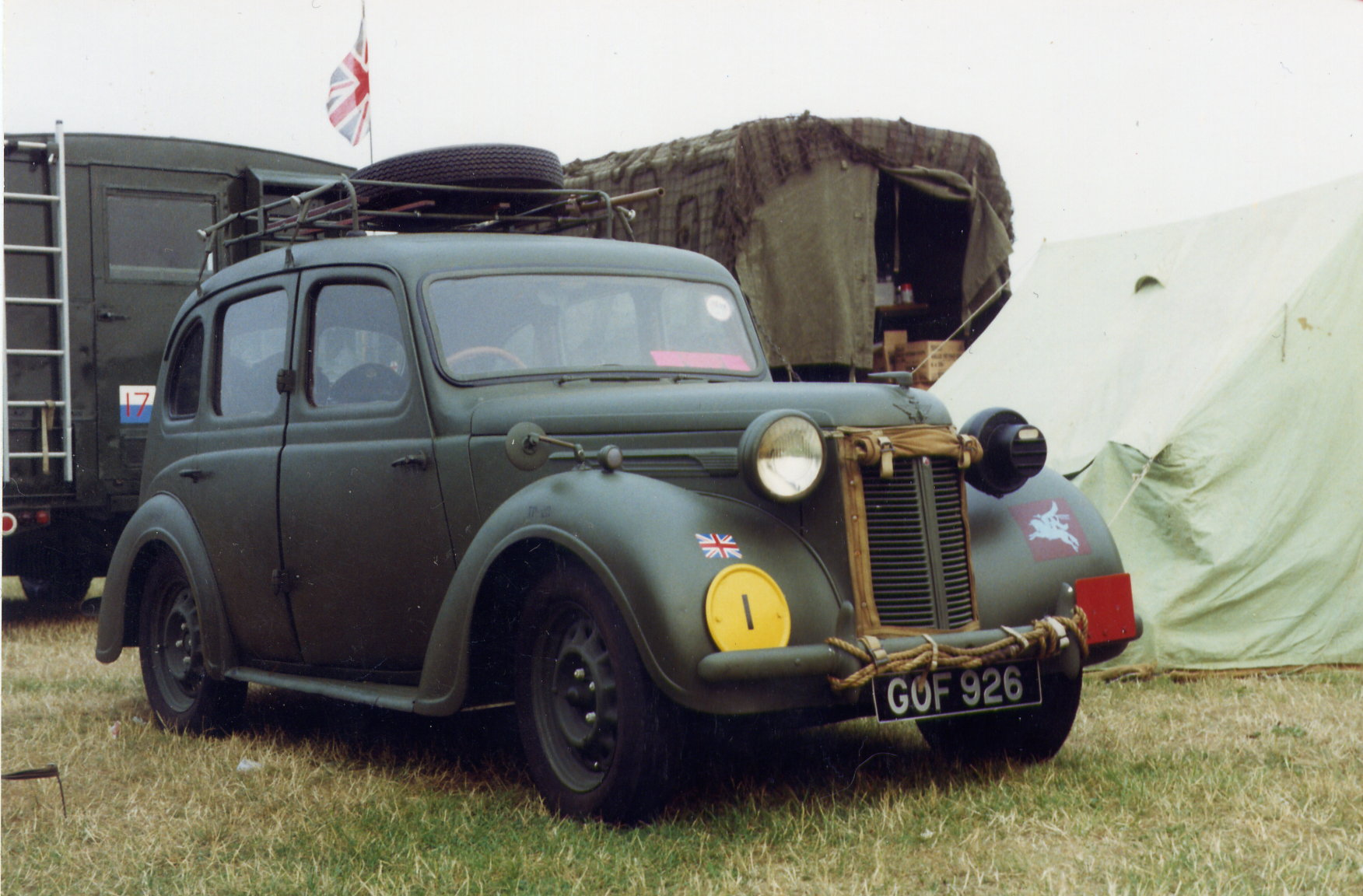 Austin 10hp Staff Car (GOF 926)
