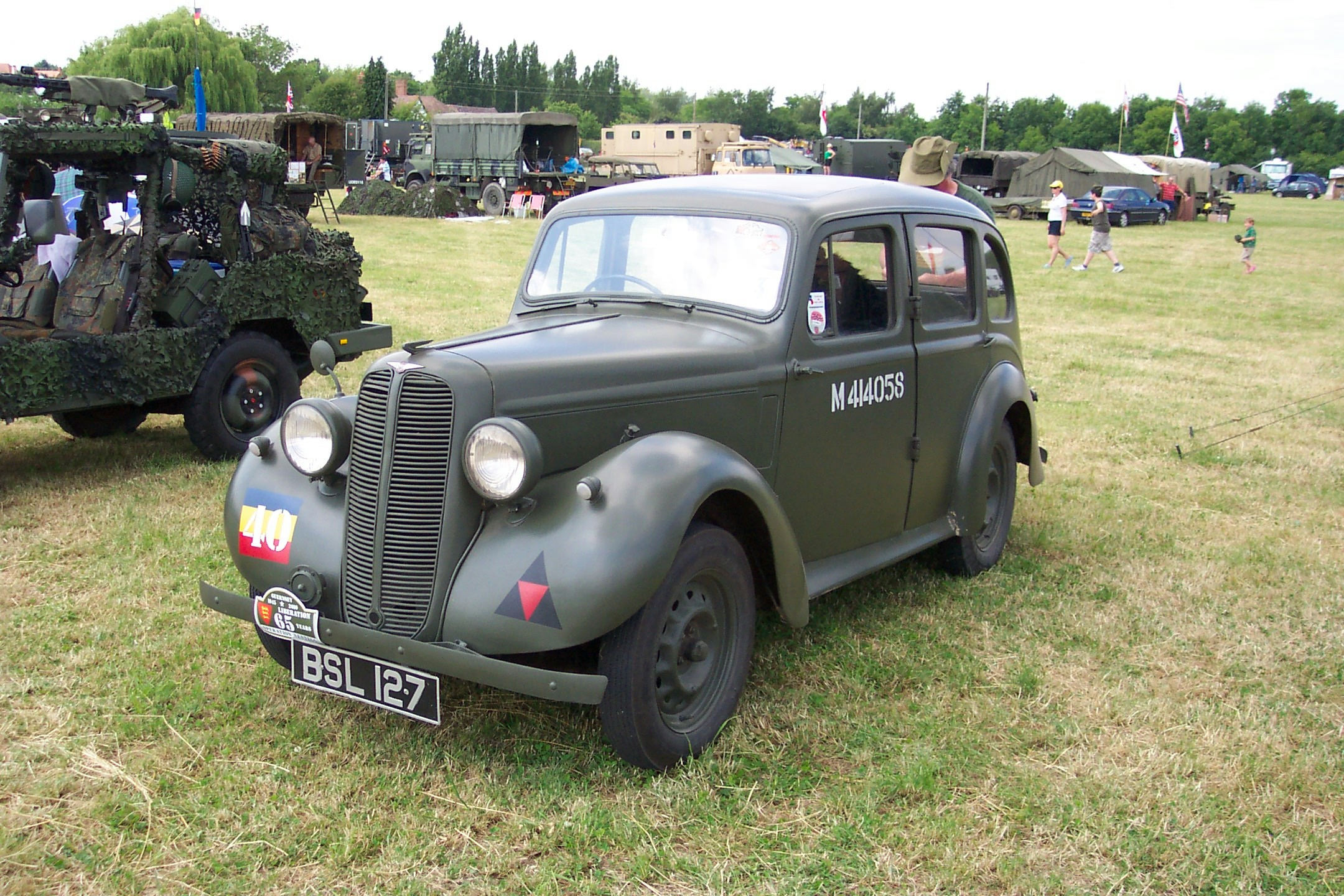 Hillman Minx 10hp Staff Car (BSL 127)