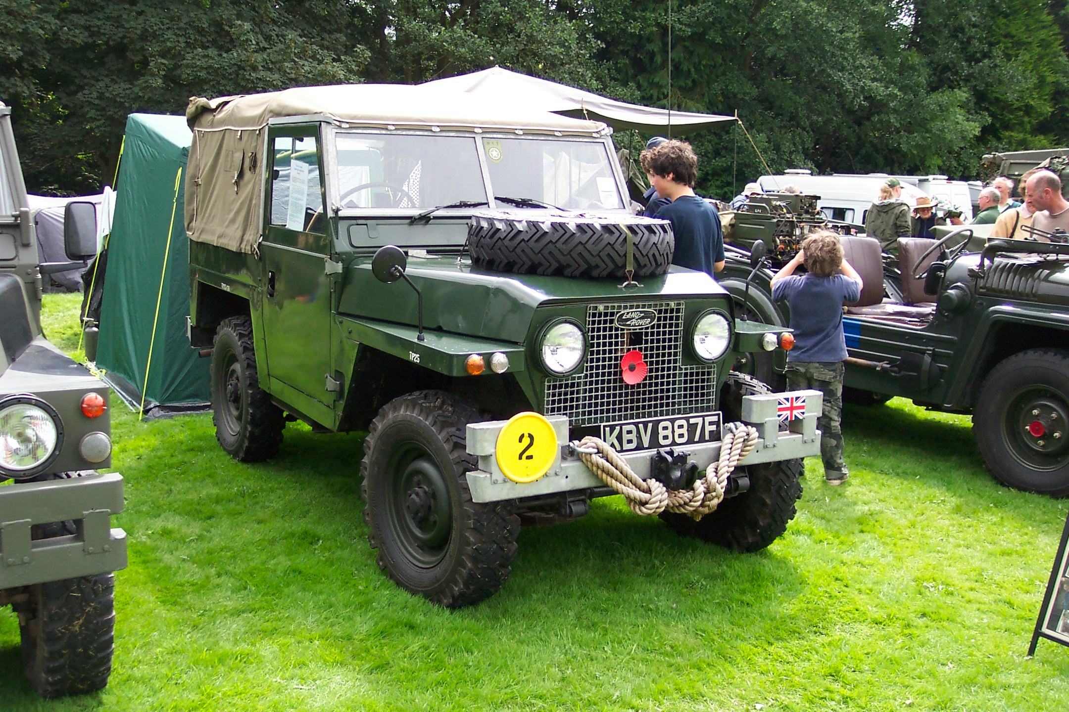 Land Rover S2 Lightweight KBV