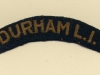 Durham Light Infantry (Embroid)