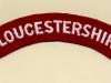 Gloucestershire Regiment (Embroid)