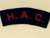 HAC (Honourable Artillery Company) (Embroid)