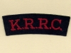 King's Royal Rifle Corps (Embroid)