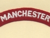 Manchester Regiment (Embroid)
