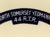North Somerset Yeomanry 44 RTR (Embroid)