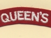 Queen's Royal Regiment (West Surrey)(Embroid)