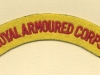 Royal Armoured Corps (Embroid)