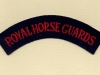 Royal Horse Guards (Embroid)