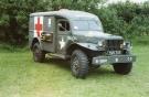 Dodge WC-54 Ambulance (YMS 345)(Copyright Ken Reid)