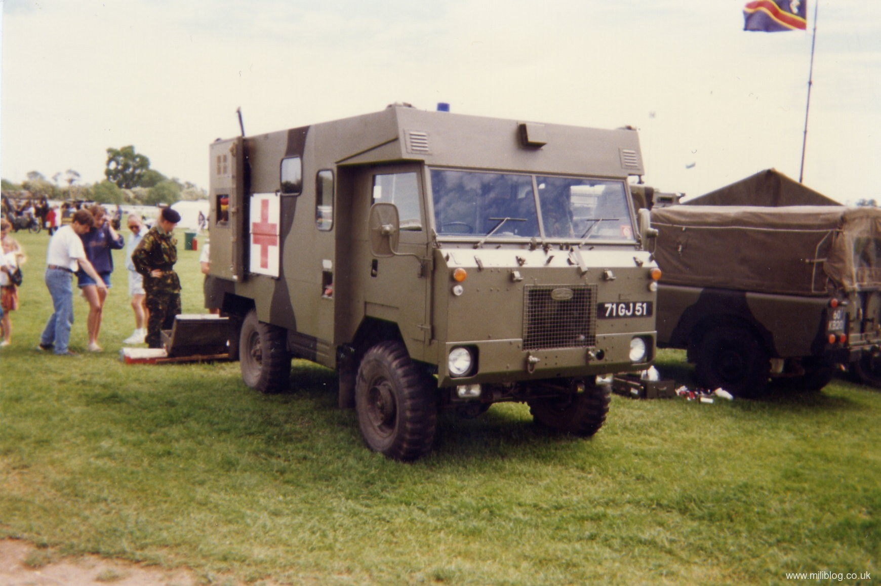 military items military vehicles military trucks military land rover 101 ambulance 71 gj 51