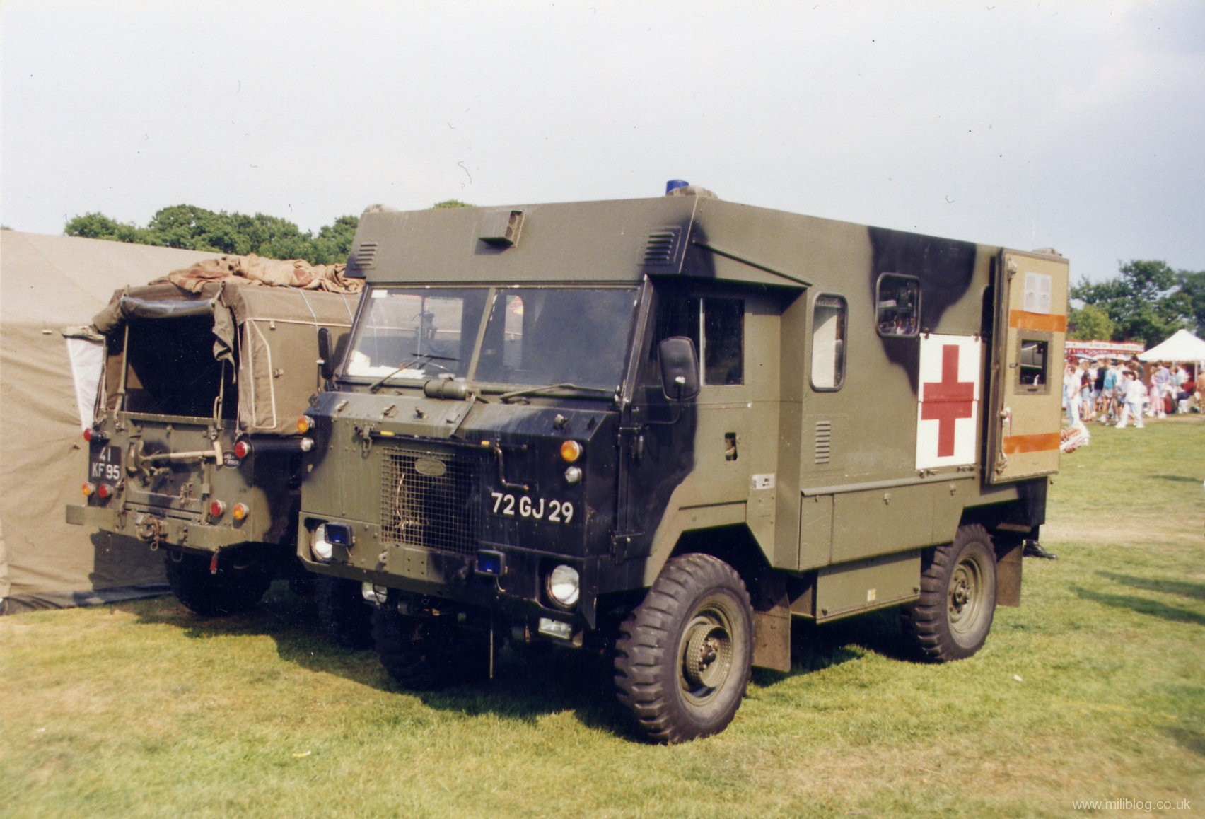 military items military vehicles military trucks military land rover 101 ambulance 72 gj 29