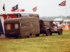 Land Rover 110 Defender & Recruiting Caravan