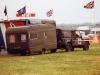 Land Rover 110 Defender & Recruiting Caravan
