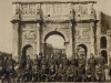 Soldiers & Airmen at the Arch Of Constantine, Rome