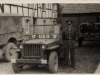 Willys MB jeep 49th Infantry Division UEO