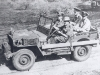 General Slim Driving a Jeep with Mountbatten
