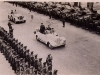 Tunisia Victory Parade - Monty's Humber & a captured German Horch 15 Staff Car