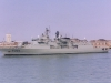 F331 Alvares Cabral (Vasco de Gama Class Frigate) leaving Portsmouth