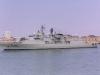 F331 Alvares Cabral (Vasco de Gama Class Frigate) leaving Portsmouth