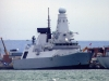 D32 HMS Daring (Type 45 Class Destroyer) Photographed in Portsmouth