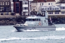 P291 HMS Puncher (Archer Class Navy Patrol Vessel) in Portsmouth Harbour