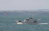 P291 HMS Puncher (Archer Class Navy Patrol Vessel) in Portsmouth (Copyright Brian Burnell) 