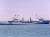 A388 RFA Fort George (Replenishment Ship) Photographed in Eastern Solent Portsmouth