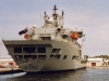 A390 RFA Wave Ruler (Fast Fleet Tanker) Photographed in Portsmouth October 2004 