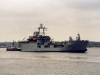 L3005 Sir Galahad (Support &amp;#038; Supply Vessel) Photographed passing Hythe, Southampton