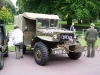 Wolverhampton Bantock House 1940's Show September 2009 Dodge Weapons Carrier (283 XUS)