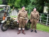 Wolverhampton Bantock House 1940's Show September 2009 Royal Tank Regiment Chaps