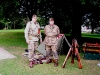 Wolverhampton Bantock House 1940's Show September 2009 US Paras and Their Equipment