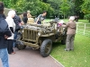 Wolverhampton Bantock House 1940's Show September 2009 Willys MB Jeep (MFO 606)