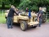 Wolverhampton Bantock House 1940's Show September 2009 Willys MB SAS Jeep (389 CVX)