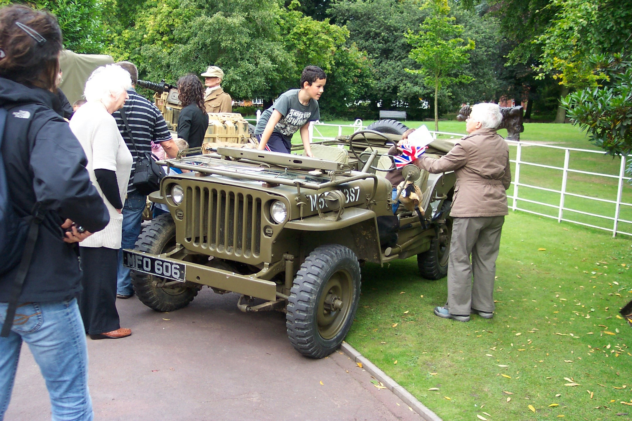 Wolverhampton bantock house 1940 039 s show september 2009 willys mb jeep mfo