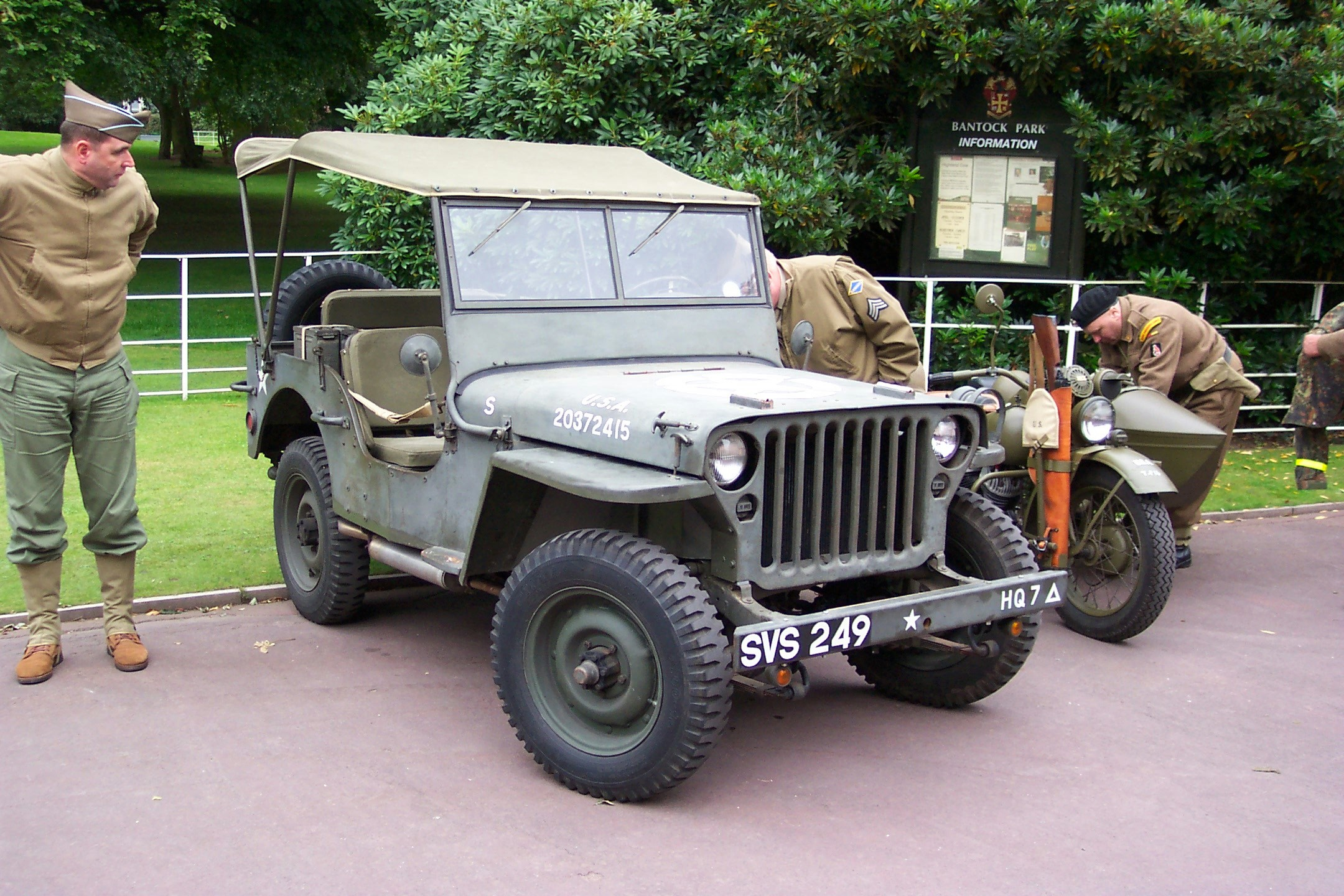 Wolverhampton bantock house 1940 039 s show september 2009 willys mb jeep svs