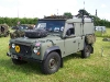 Wartime in the Vale 2010, Land Rover 110 Defender (71 KJ 28)
