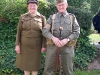 Wolverhampton Bantock House 1940's Show, Sept 2010 - ATS and Home Guard Couple