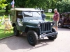 Wolverhampton Bantock House 1940's Show, Sept 2010 - Ford GPW Jeep (268 XUY)